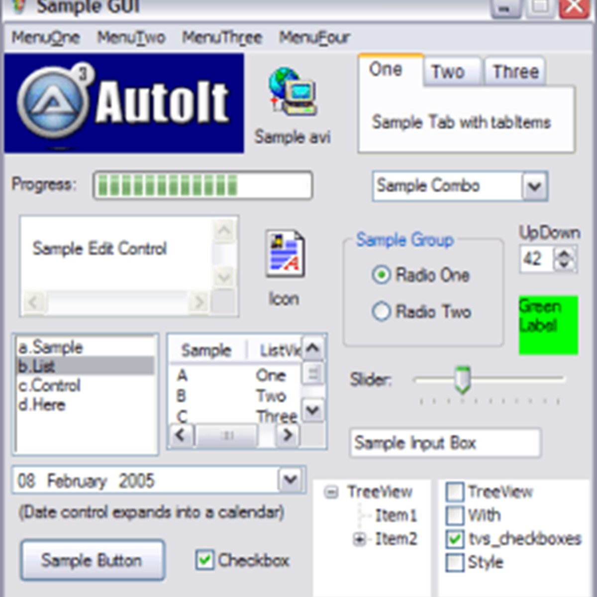 how to automate windows application using autoit