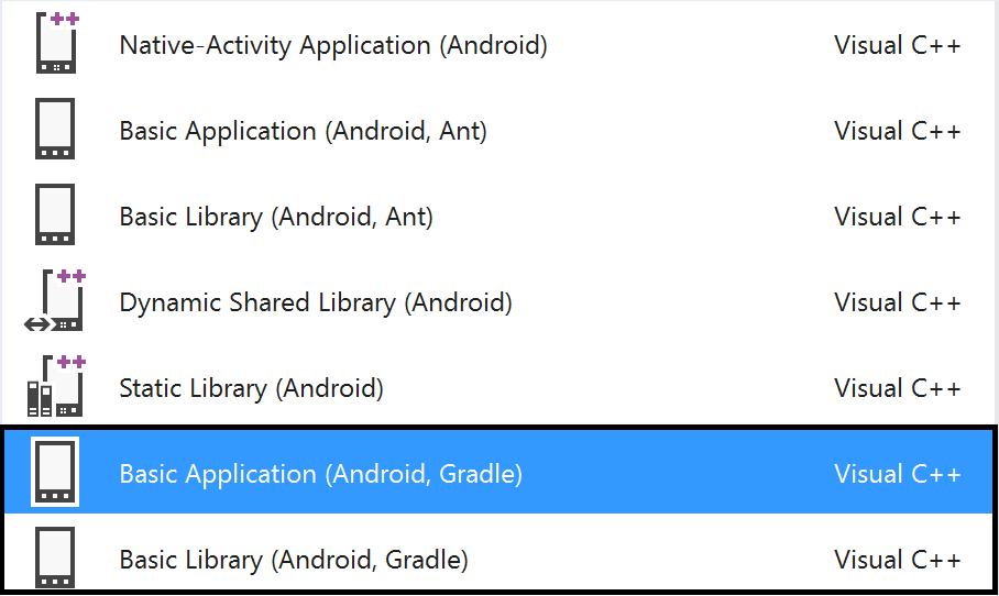 how to build android application