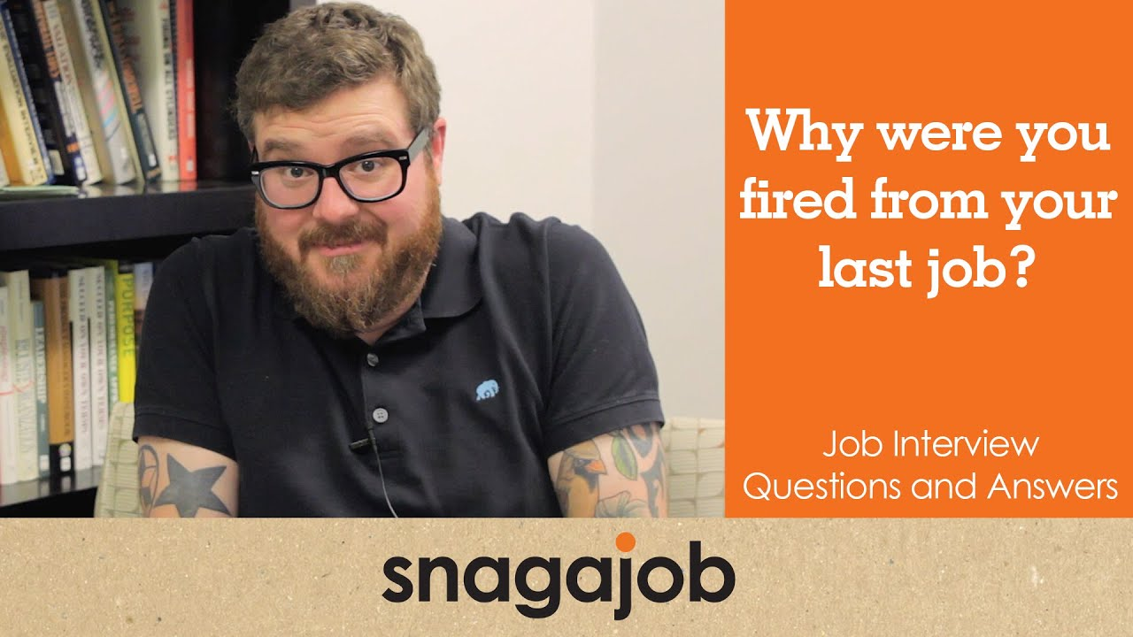 how to explain being fired on a job application