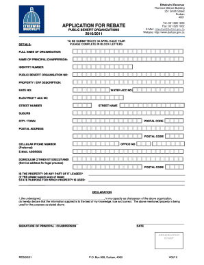how to fill job application form