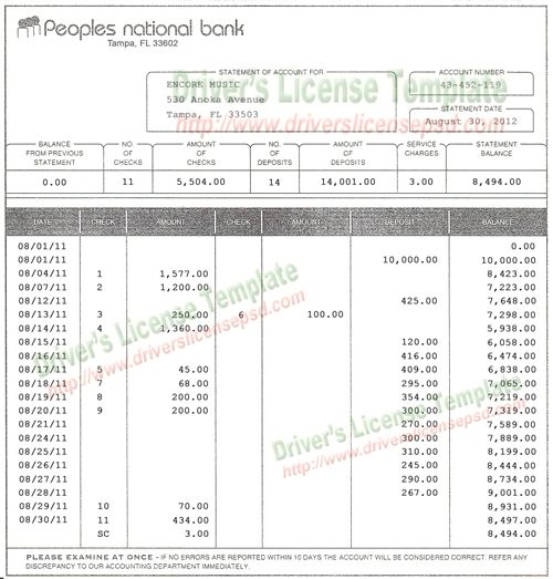 how to get bank statement for visa application