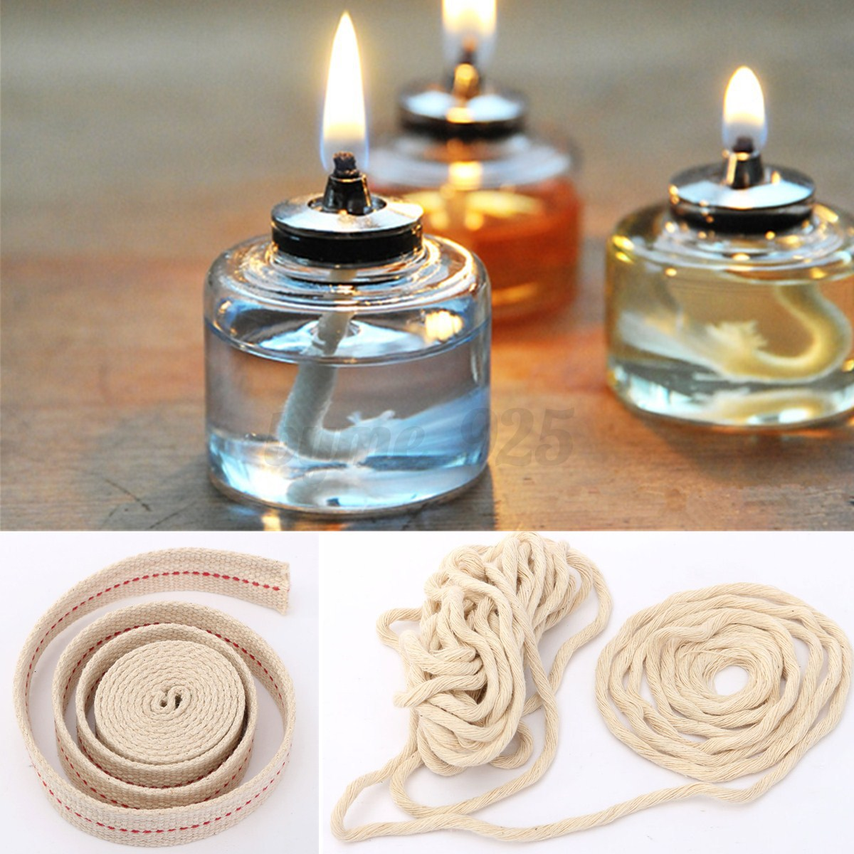 how to make a rope wick applicator