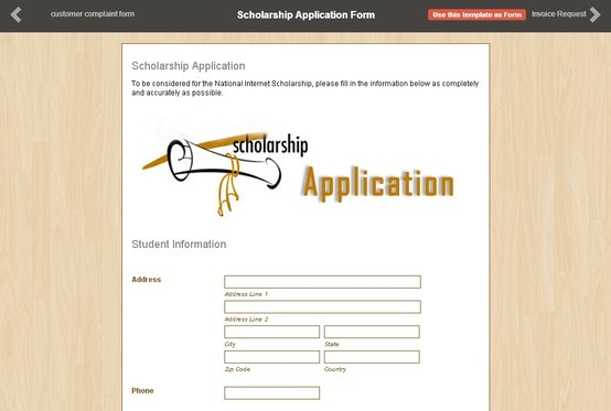 how to make an online application form free