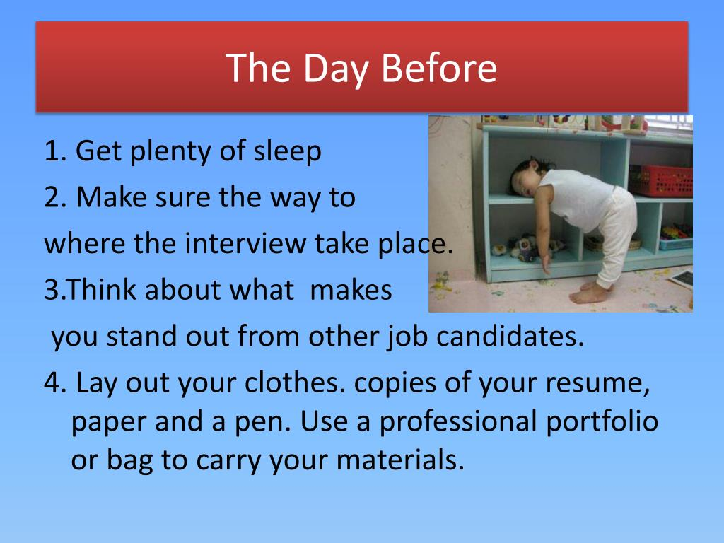 how to prepare a job application