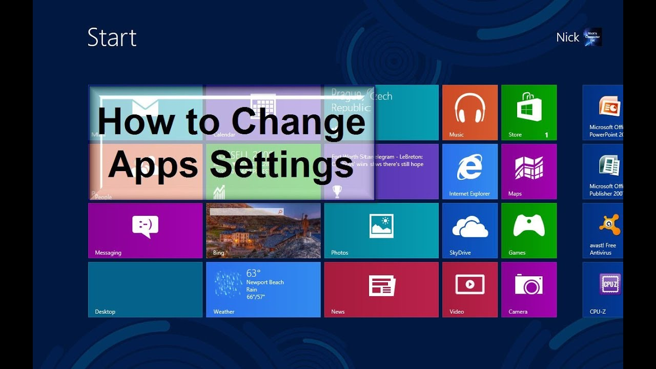 how to switch applications on windows