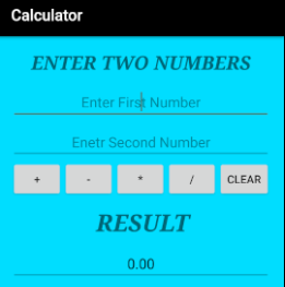 how to use javascript in android application example