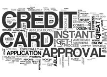 instant online credit card application