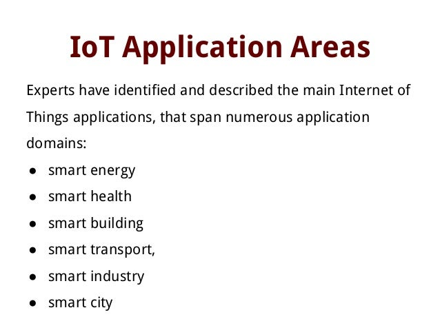 internet of things applications in education