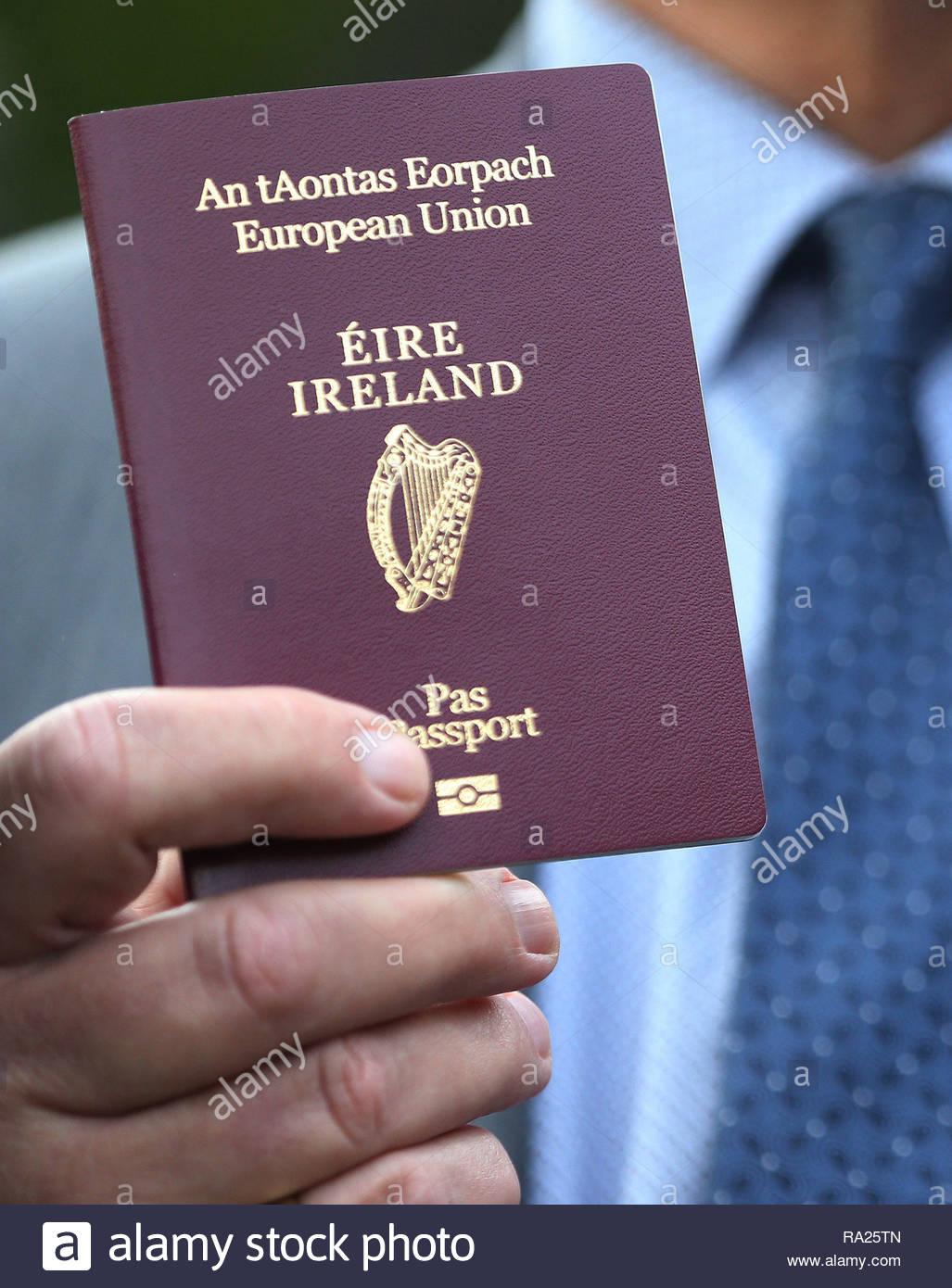 irish passport application form uk