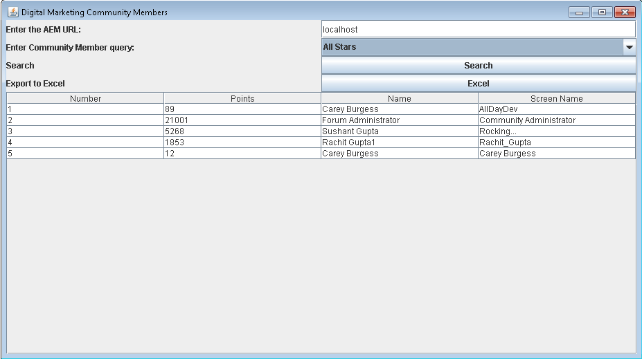 java gui framework for desktop application