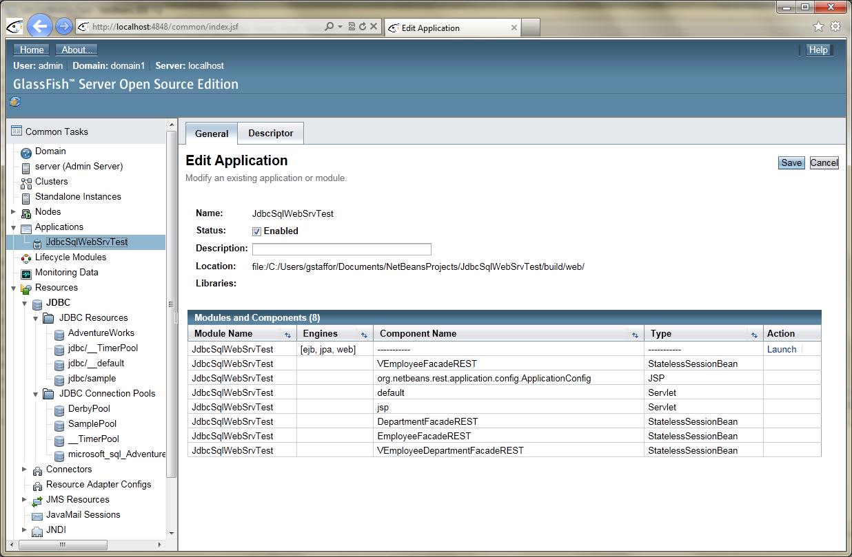 jboss web server or application server