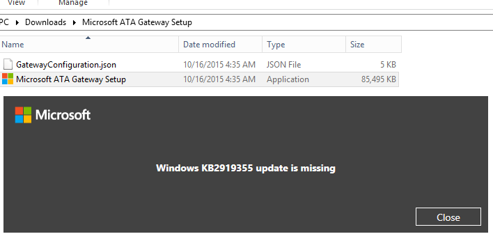 kb2919355 not applicable server 2012 r2
