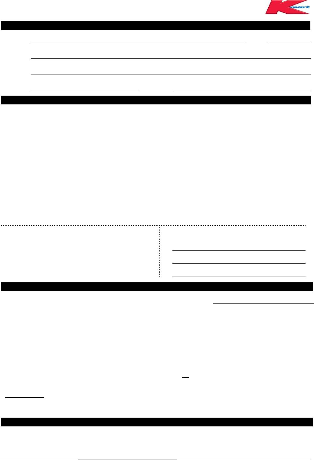kmart australia job application form