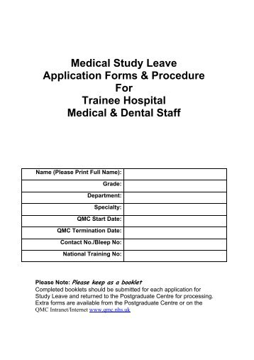 leave application format for eye operation