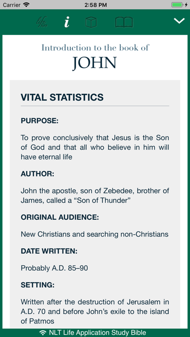 life application study bible app