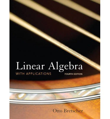 linear algebra with applications answers