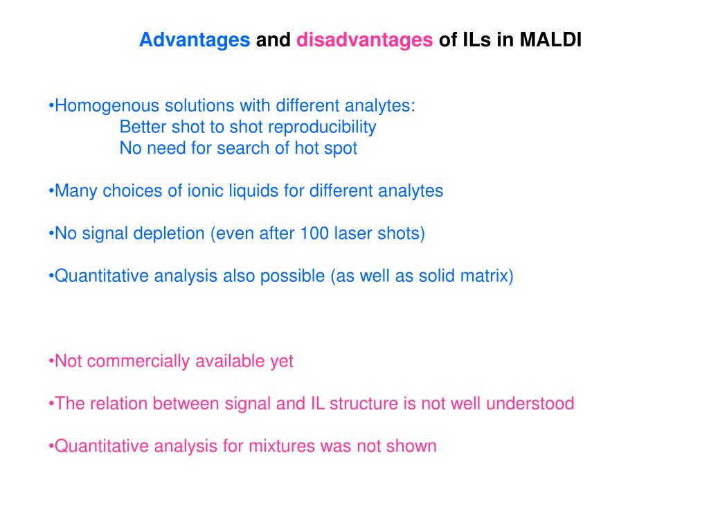 mass spectrometry principles and applications ppt