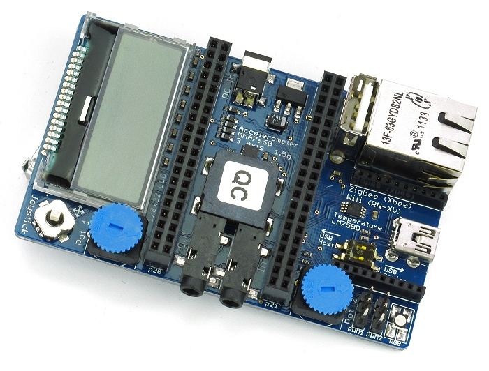 mbed application board for lpc1768