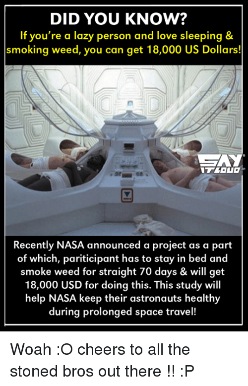 nasa 70 days in bed 18000 application