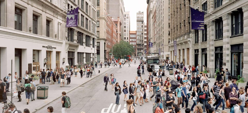 new york university online application