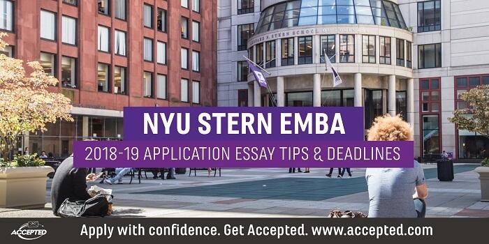 nus mba application deadline 2018