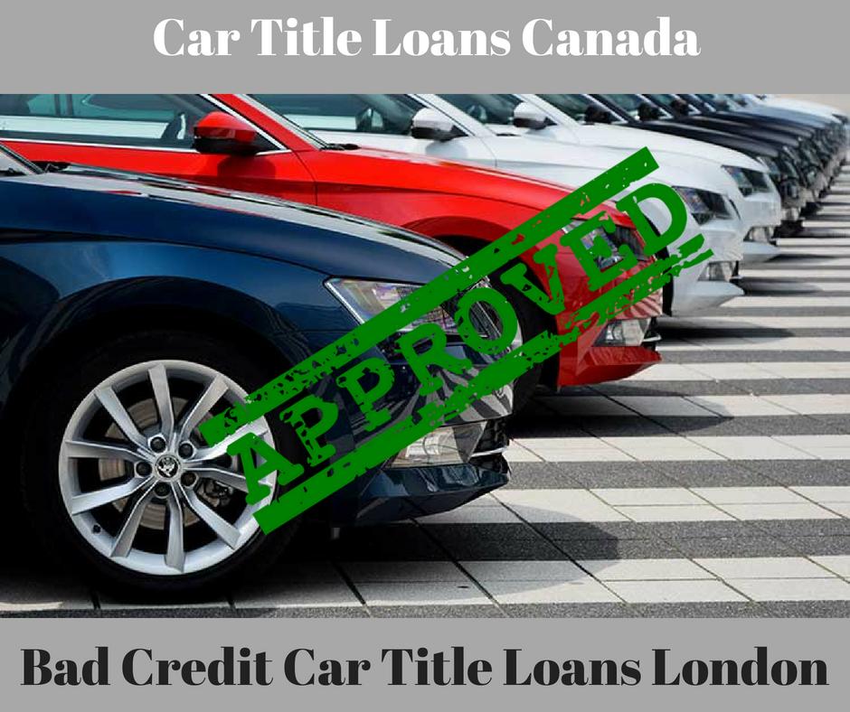 online car loan application bad credit