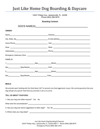 pets at home application form