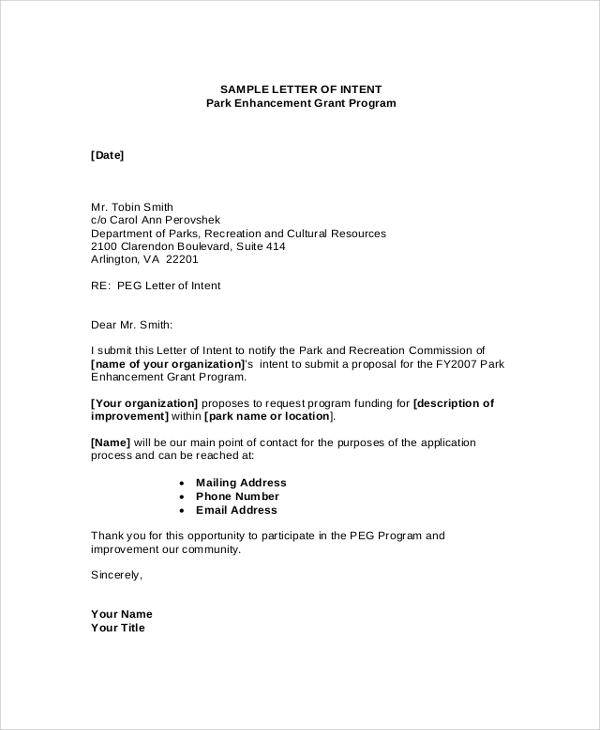 sample letter of support for funding application