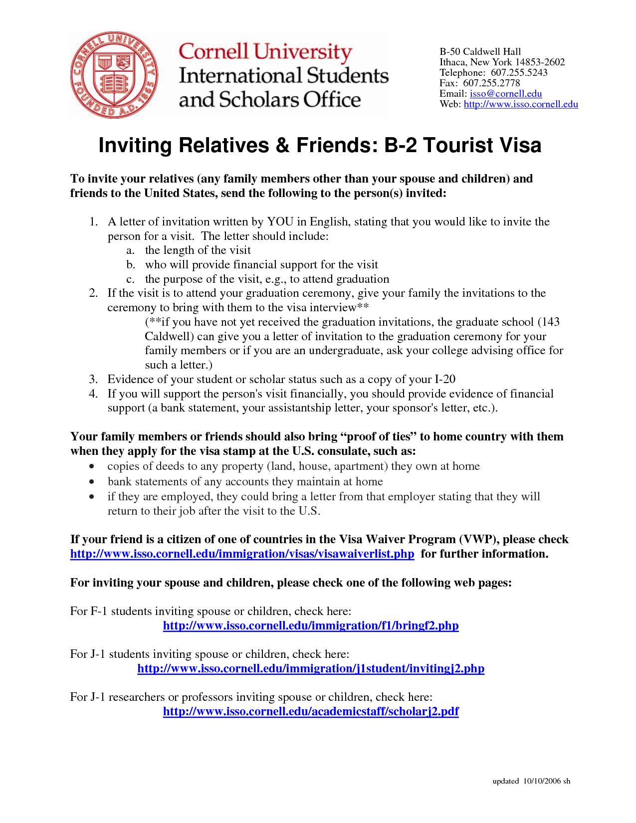sample letter of support for tourist visa application