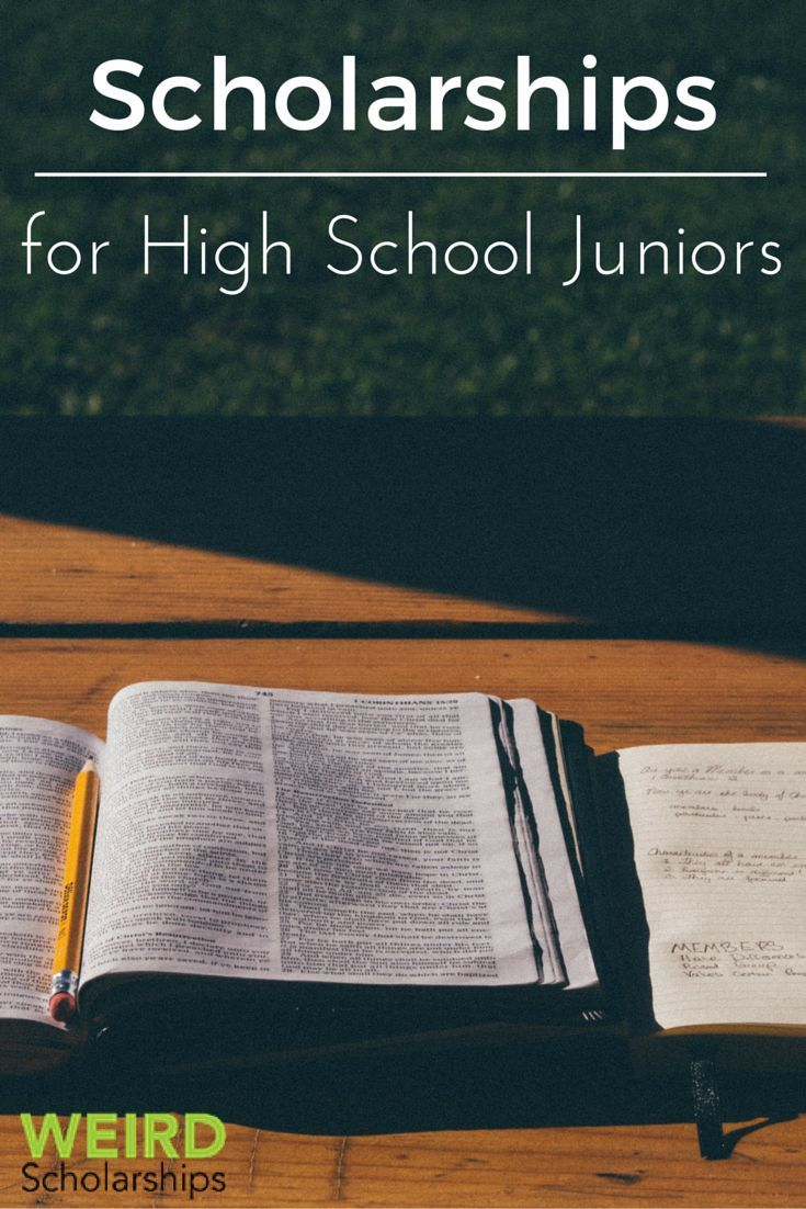 scholarship application form for high school students