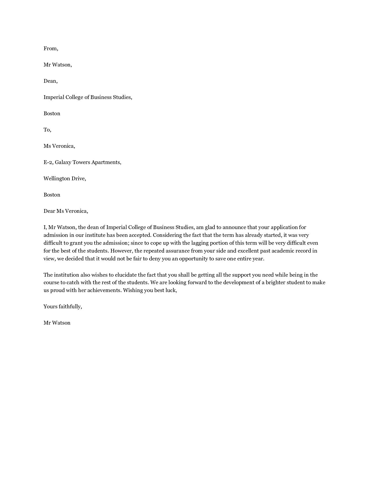 school captain application letter template