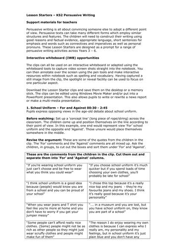 sentence starters for job applications