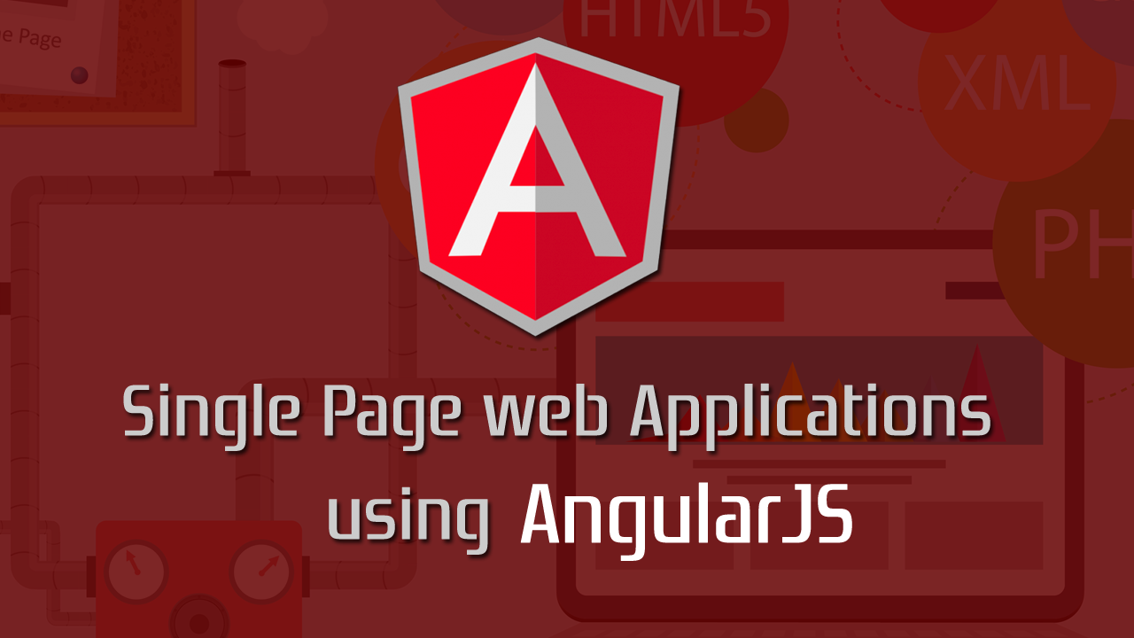 single page application using angularjs and web api