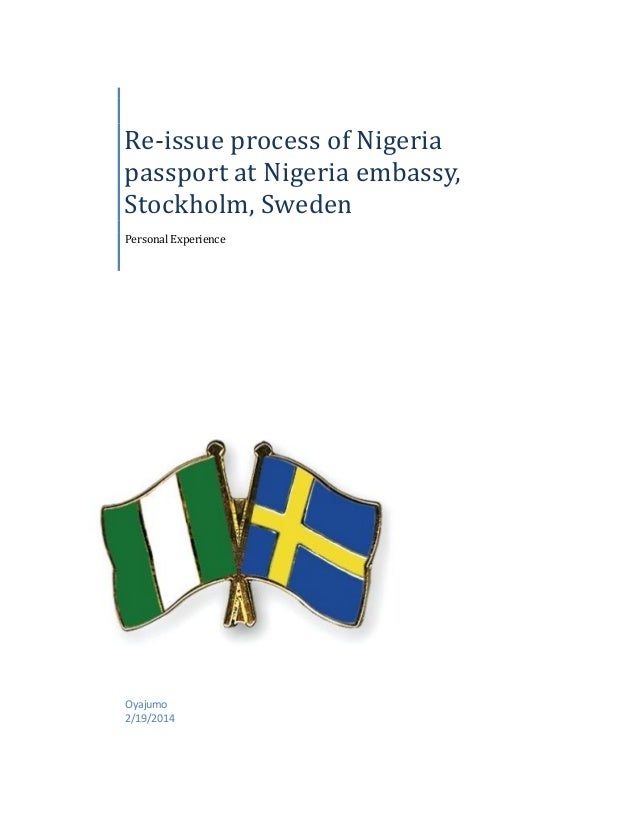 sweden visa application in nigeria