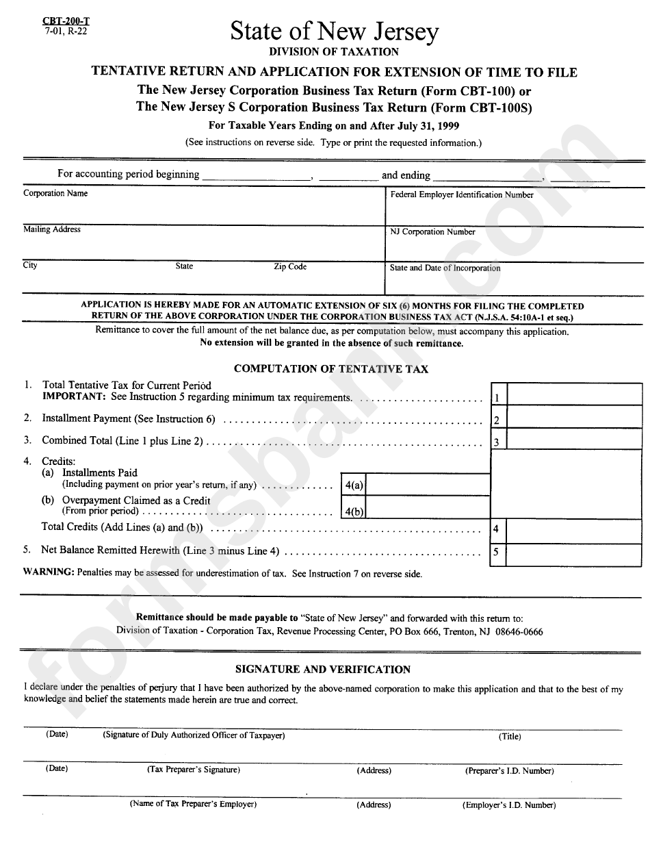 taxation file number application form
