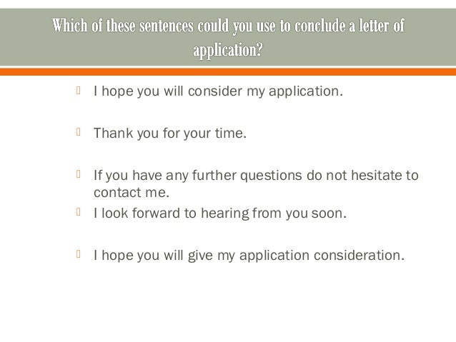 thank you for your time and consideration of my application