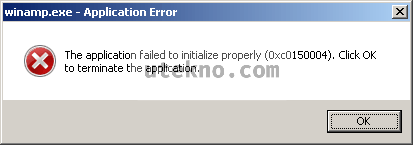 the application failed to initialize properly 0xc0000006