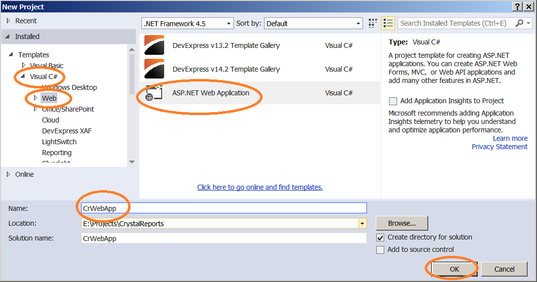 the report application server failed crystal report c#