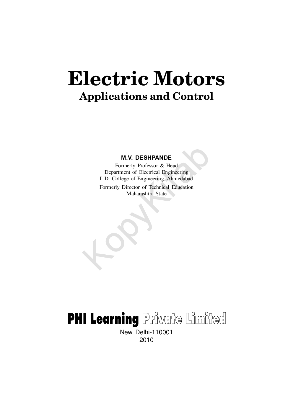 types of dc motors and their applications pdf