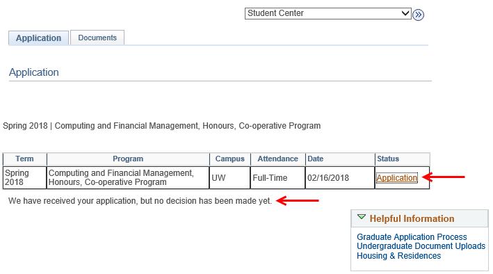 university of waterloo application deadline
