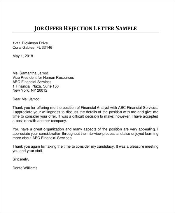unsuccessful job application letter nz