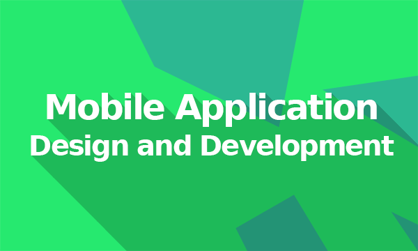 web and mobile application development course