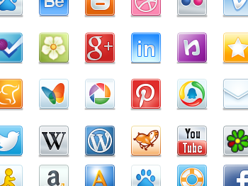 websites and applications logos and names