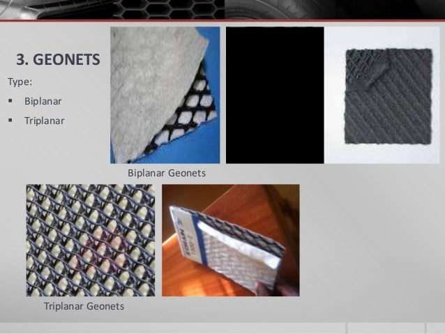 what are the application of geonets