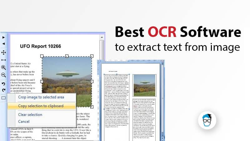 what is an ocr application