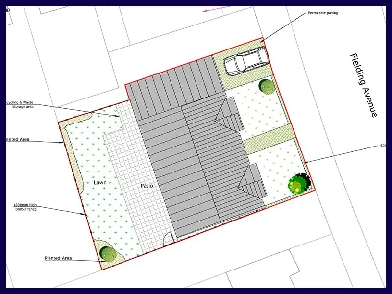 what plans are required for a planning application