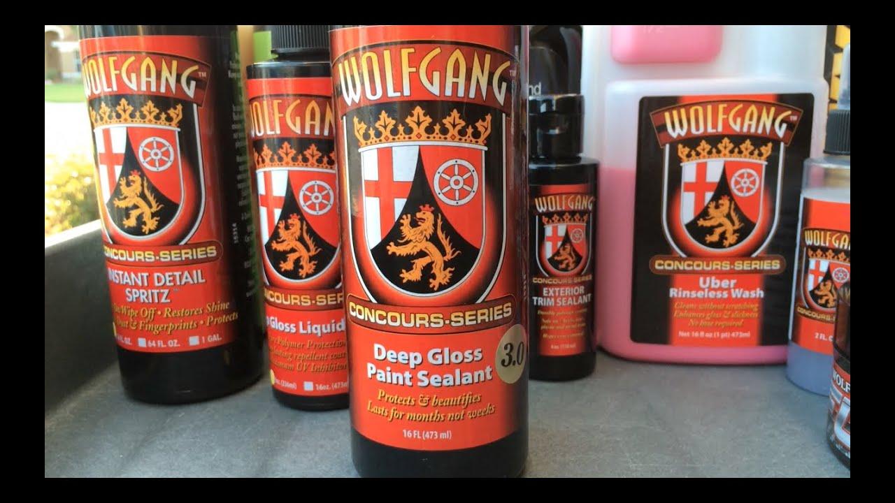 wolfgang deep gloss paint sealant 3.0 application